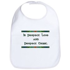 In Perfect Love Bib