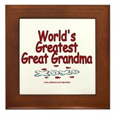 Great Grandma Framed Tile