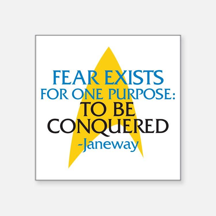 """fearjaneway-01 Square Sticker 3"""" x 3"""""""