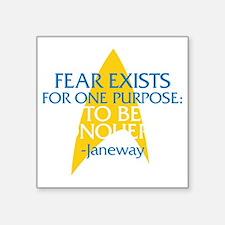 """fearjaneway2-01 Square Sticker 3"""" x 3"""""""