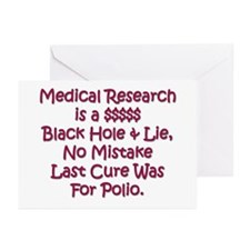 Medical Research Greeting Cards (Pk of 10)