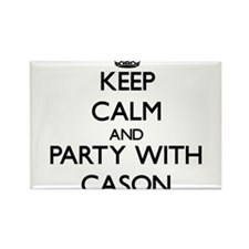 Keep Calm and Party with Cason Magnets
