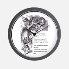Mad People Wall Clock