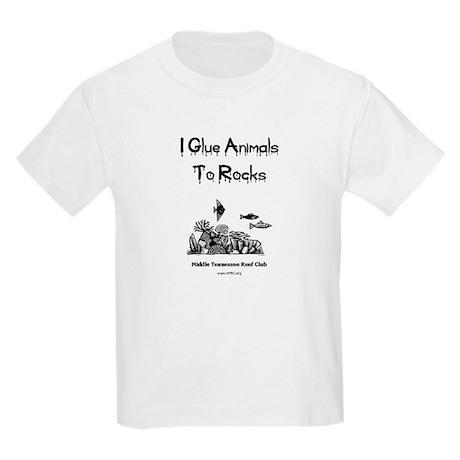 I Glue Animals To Rocks Kids T-Shirt