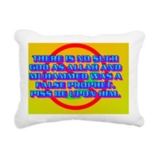 13-THERE IS NO SUCH GOD  Rectangular Canvas Pillow
