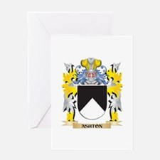 Ashton Coat of Arms - Family Crest Greeting Cards