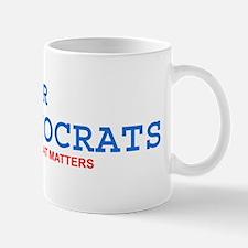 Fewer Democrats Mug