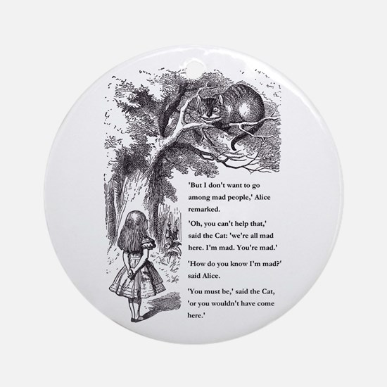 Mad People Ornament (Round)