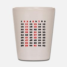 2-Prime Numbers 01 copy Shot Glass