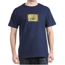 baby boomers novelty established 1953 T-Shirt