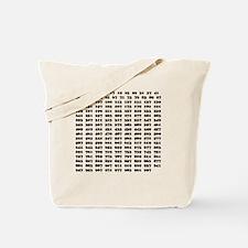 Prime Numbers list 01 copy Tote Bag