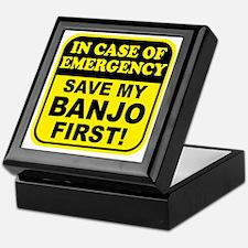 banjoEmergency Keepsake Box