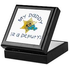 Unique Sheriff k9 Keepsake Box