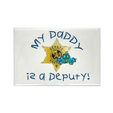 Cute Police officer Rectangle Magnet