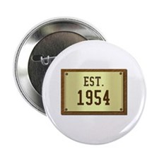 baby boomers novelty established 1954 Button