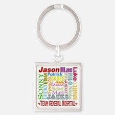 GH guy names copy Square Keychain