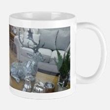 Seated stag Mugs