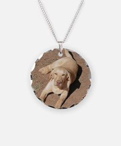 Yellow Lab 1900 x 1600 Necklace