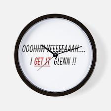 Funny Glenn beck Wall Clock