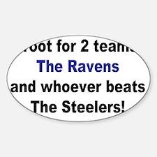 Ravens football Decal