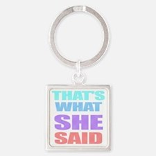 Designs-Other002-02 Square Keychain