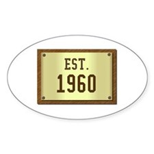 baby boomers novelty established 1959 Decal
