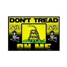 """Don't Tread On Me"" Sticker (Rectangle)"
