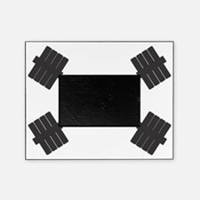 TEAM SWOLL BARBELL LOGO Picture Frame