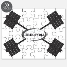 TEAM SWOLL BARBELL LOGO Puzzle