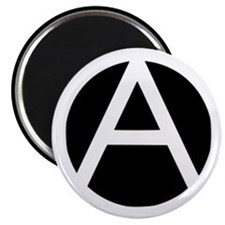 "Anarchist 2.25"" Magnet (100 pack)"