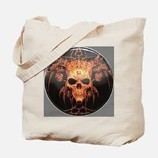 skull demon Tote Bag