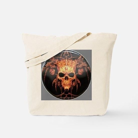 skull demon Tote Bag