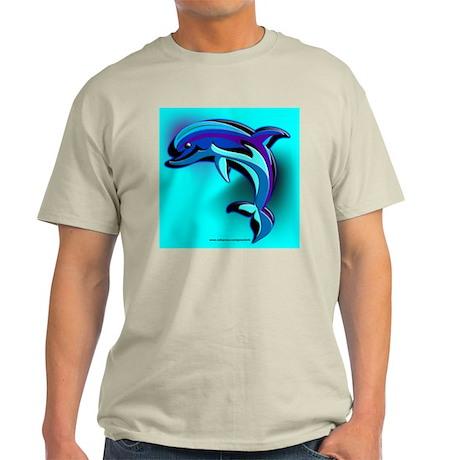 Blue Dolphin Ash Grey T-Shirt