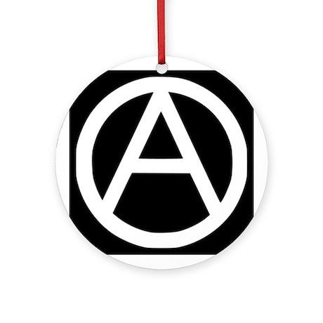 Anarchist Ornament (Round)