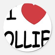OLLIE Round Car Magnet