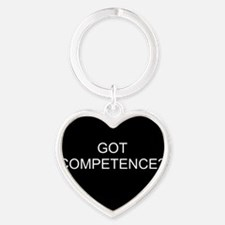 gotcompetence Heart Keychain