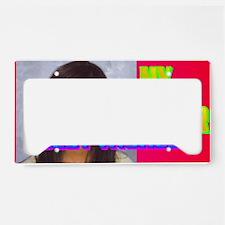 3-Rifqa Bary(black cap) License Plate Holder