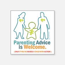 """Parenting DESIGN Square Sticker 3"""" x 3"""""""