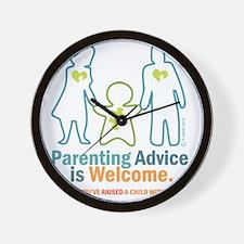 Parenting DESIGN Wall Clock