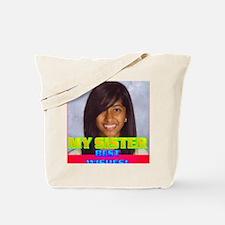 3-Rifqa Bary(button) Tote Bag