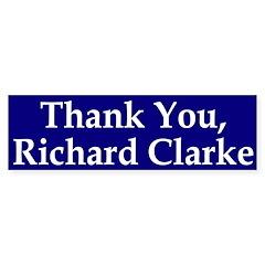 Thank You, Richard Clarke (sticker)