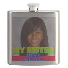 3-Rifqa Bary(button) Flask