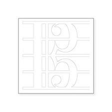"""altoclef-smooth-inverse Square Sticker 3"""" x 3"""""""