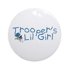 Trooper's Lil Girl Ornament (Round)