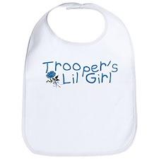 Trooper's Lil Girl Bib