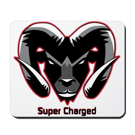 Super Charged Ram Style Mousepad Mousepad