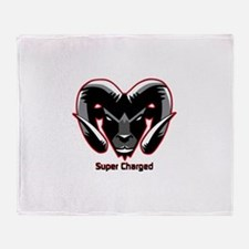 Super Charged Ram Style Mousepad Throw Blanket