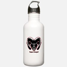 Super Charged Ram Style Mousepad Water Bottle