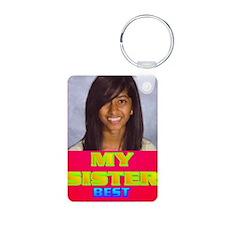 3-Rifqa Bary(oval portrait Keychains