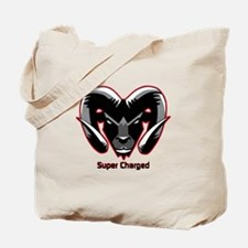 Super Charged Ram Style Mousepad Tote Bag